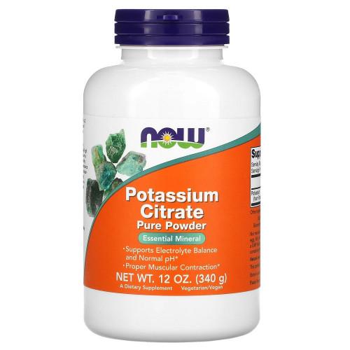NOW Potassium Citrate 340г