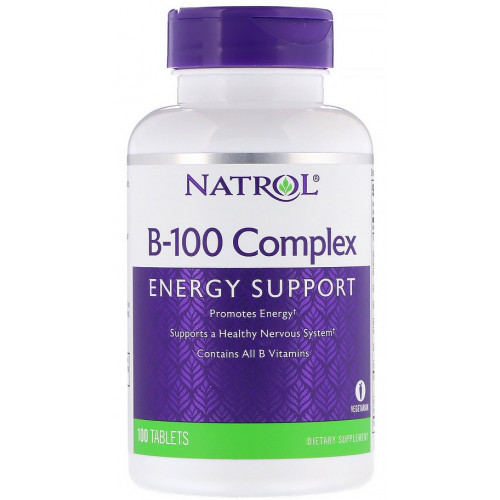 Natrol B-100 complex 100т