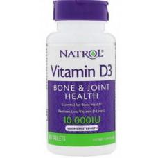Natrol Vitamin D3 10000ME 60т
