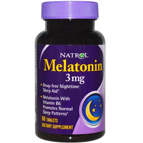 Natrol Melatonin 3mg 60т