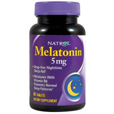 Natrol Melatonin 5mg 60т