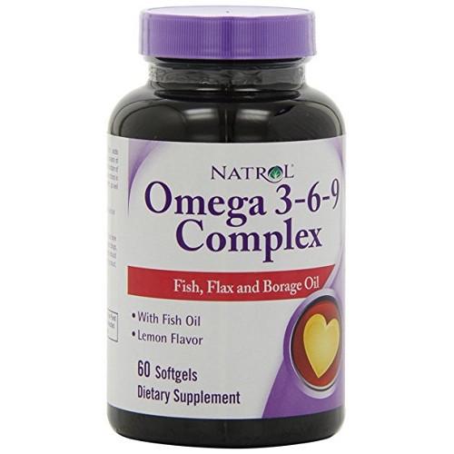 Natrol Omega 3-6-9 Complex 60сг