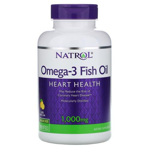 Natrol Omega 3 1000mg 60сг