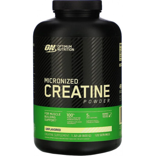 Optimum Nutrition Micronized Creatine Powder 600г