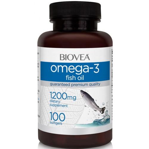 BioVea Omega-3 1200mg 100сг