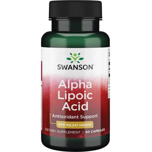 Swanson Alpha Lipoic Acid 600mg 60к