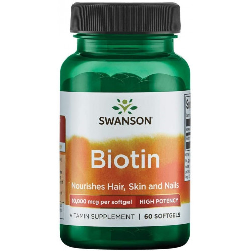 Swanson Biotin 10000mg 60к