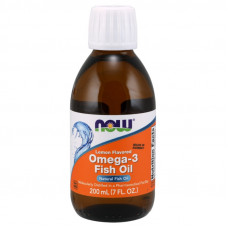 NOW Omega-3 Fish Oil 200мл