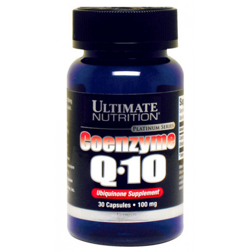 Ultimate Nutrition Coenzyme Q10 100мг 30к