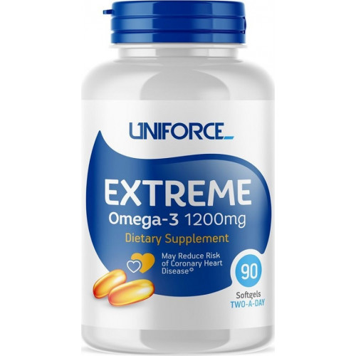 Uniforce Extreme Omega-3 1200mg 120к