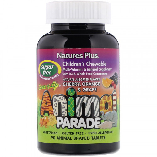 Natures Plus Animal Parade 90т