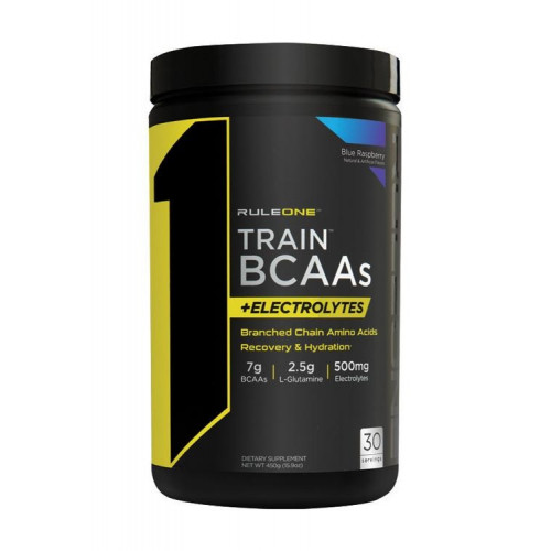 RuleOne Train BCAAs+Electrolytes 450г