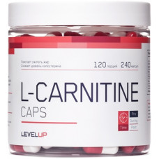 LevelUp L-Carnitine Caps 240к