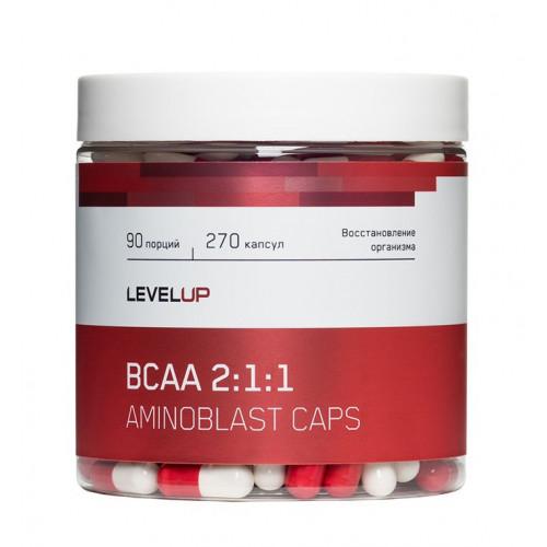 LevelUp BCAA Caps 270к