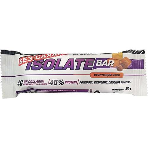 Ironman Isolate Bar без сахара 50г
