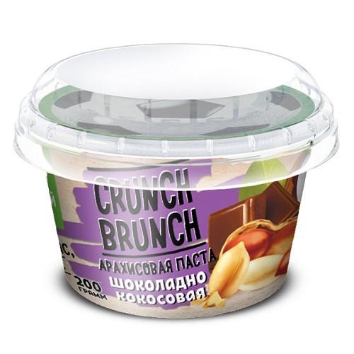 Crunch-Brunch Арахисовя паста с медом 200г
