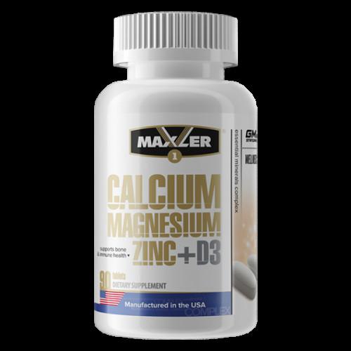 Maxler Calcium Magnesium Zinc D3 90т