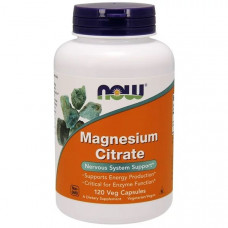 NOW Magnesium Citrate 120к