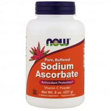 NOW Sodium Ascorbate 227г
