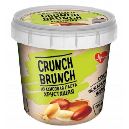 Crunch-Brunch Арахисовя паста 1000г