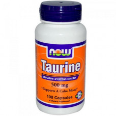 NOW Taurine 500mg 100к