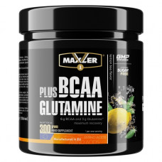 Maxler BCAA plus Glutamine 300г