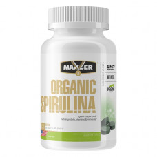 Maxler Organic Spirulina 500mg 180т