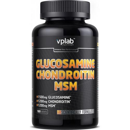 VPLab Glucosamine Hondroitine MSM 180t