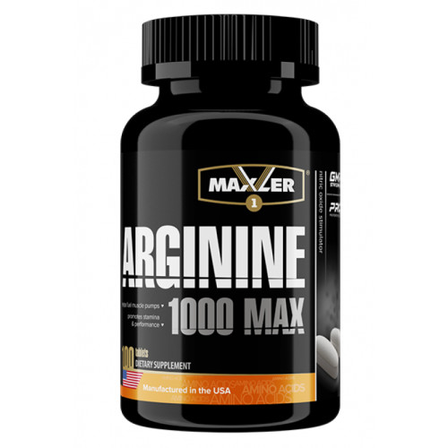 Maxler Arginine Max 1000 100т