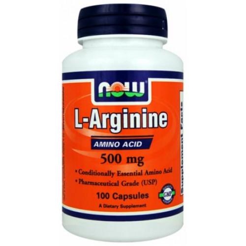 NOW Arginine 500 100к
