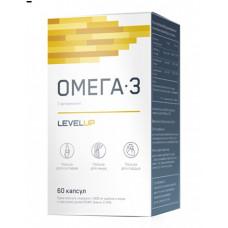 LevelUp Omega-3+Vitamin E 60к