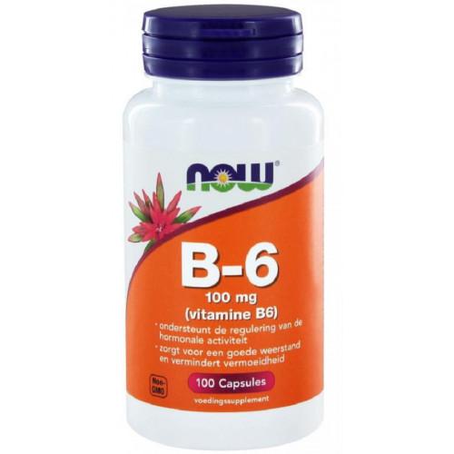 NOW Vitamin B-6  100т