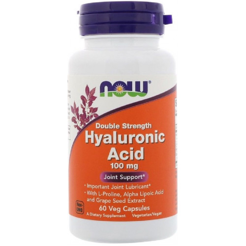 NOW Hyaluronic Acid 60к
