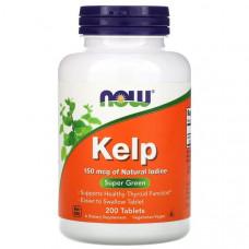 NOW Kelp 150mcg 200т