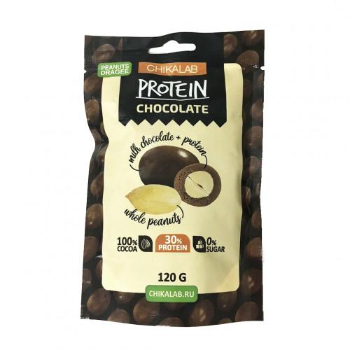 "BombBar CHIKALAB ""Арахис в шоколаде"""