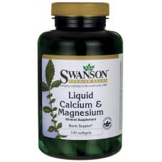 Swanson Liquid Calcium & Magnesium 100сг