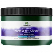 Swanson Magnesium Citrate Powder 244г