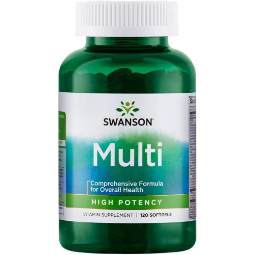 Swanson Multi High Potency 120сг