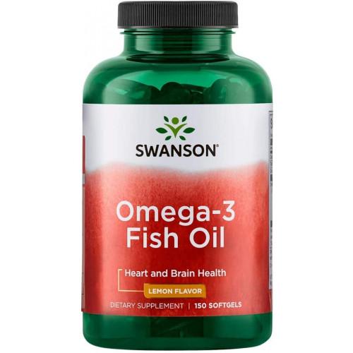 Swanson Omega-3 Fish Oil 150сг