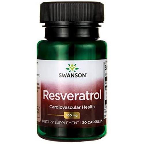 Swanson Resveratrol 100mg 30к