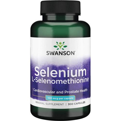 Swanson Selenium L-Selenomethionine 100mcg 200к