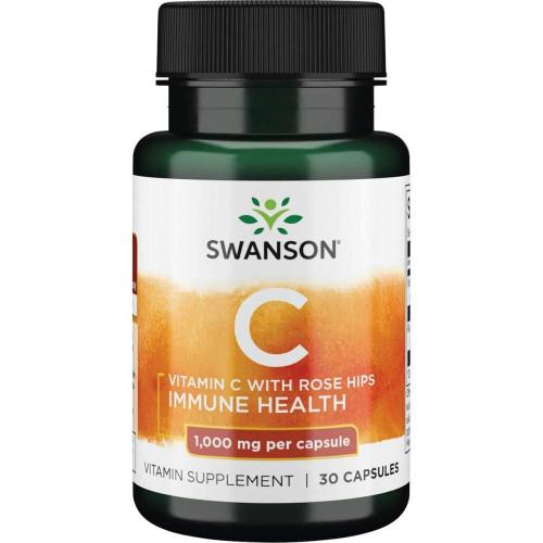 Swanson Vitamine C 1000mg 30к