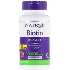 Natrol Biotin 10000 60т
