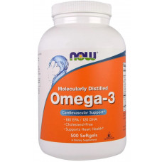 NOW Omega-3 500сг