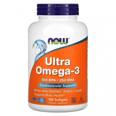 NOW Ultra Omega-3 180сг