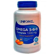 Uniforse Omega-3-6-9 1200mg 90к