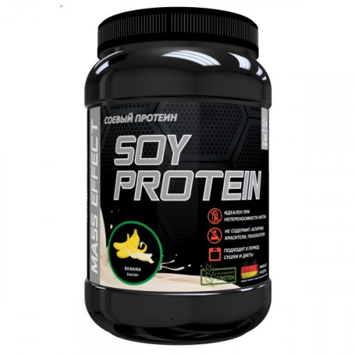 Mass Effect Soy Protein 1000г