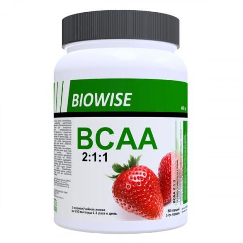 Biowise BCAA 2:1:1 400г