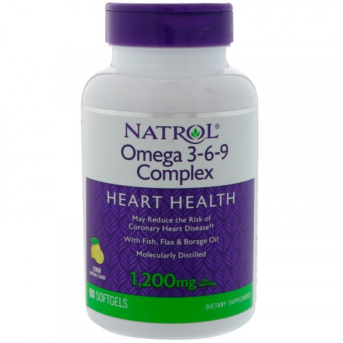 Natrol Omega 3-6-9 Complex 90сг