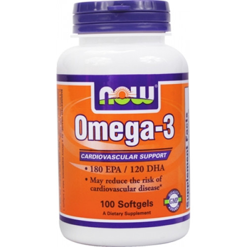 NOW Omega 3 100сг